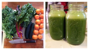 Citrus Inspired Green Juice