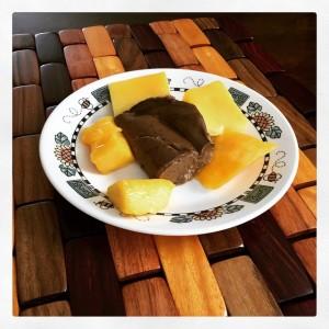 Avocado pudding